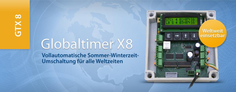 Globaltimer X8